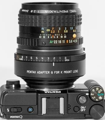 Using the K-Mount Adapter for Pentax Q