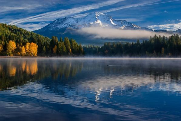 "Making of ""Reflections on Siskiyou Lake"""