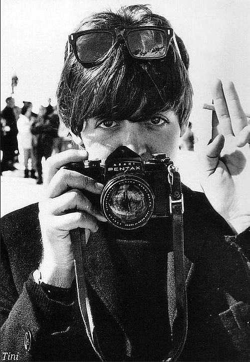 Paul McCartney and Pentax