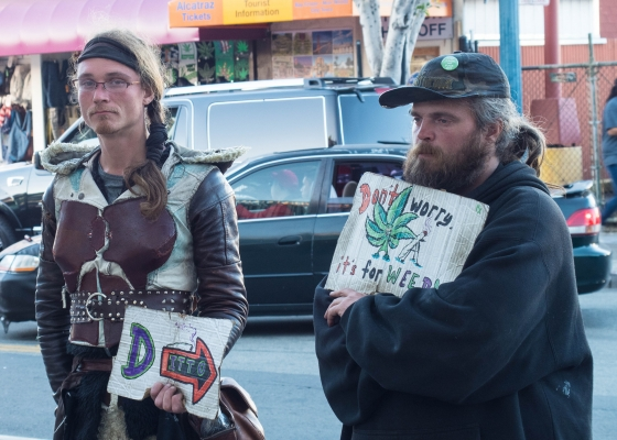 Panhandlers, San Francisco, CA, USA
