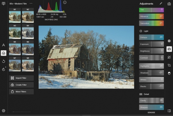 Polarr, a Mobile Editing Alternative - Part 1