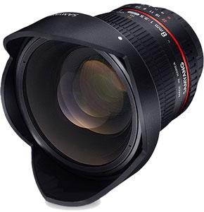 Rokinon 8mm F3.5 Fisheye CS (Removable Hood)