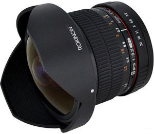 Samyang 8mm F3.5 Fisheye CS