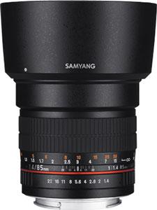 Samyang 85mm F1.4 Aspherical IF