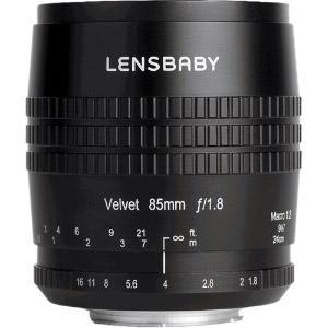 Lensbaby Velvet 85mm F1.8