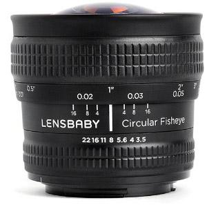 Lensbaby 5.8mm F3.5 Fisheye
