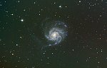 "M101, Pinwheel Galaxy, K-70, ISO 800, 94x30sec, 8"" Skywatcher 200pds, HEQ5 Pro mount.  Stacking: Sequator   PostP: PixInsight and a twist of..."