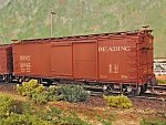 Reading box car on the Fall River Line