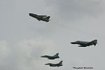 Hellenic Air Force formation. F-16-Mirage2000-A7 Corsair-F4E Phantom II AUP