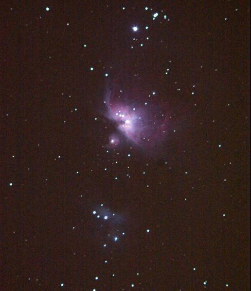 Orion Nebula -- still without telescope - PentaxForums.com