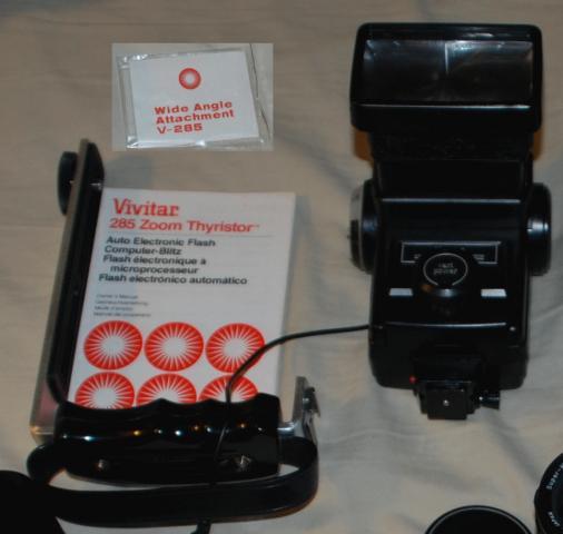 vivitar 285 zoom thyristor flash cord manual pentaxforums com rh pentaxforums com Vivitar Camcorder Vivitar Camcorder