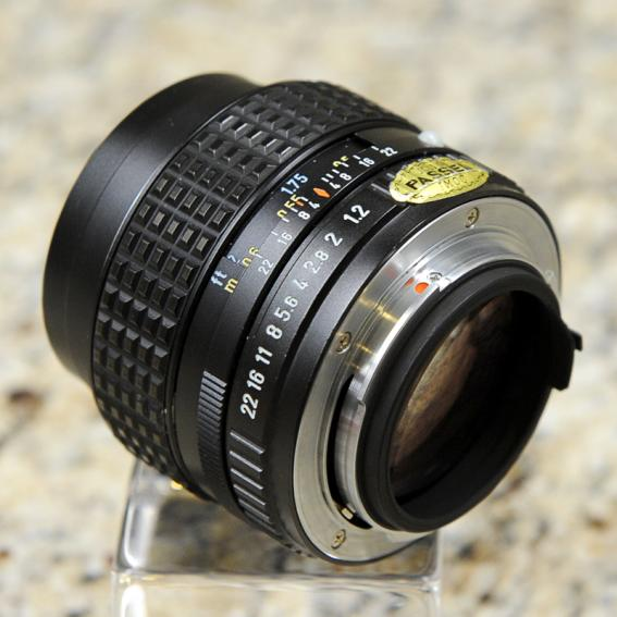 pentax k 50mm f 1 2 manual focus lens pentaxforums com rh pentaxforums com pentax manual lenses list pentax manual lenses review
