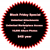 Black Friday Special: Unlimited Attachment Space & Marketplace Access (ENDS 12/2)