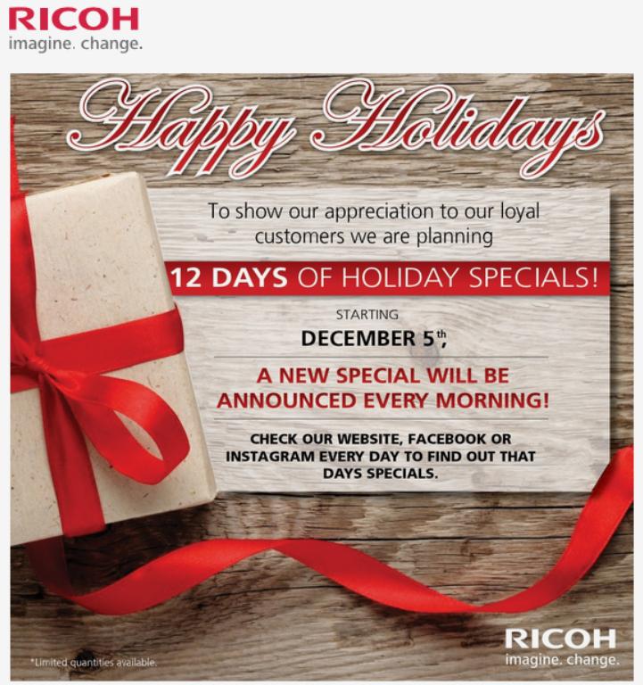 12 Days Of Pentax Holiday Deals The Us Ricoh Web Store Pentaxforums Com