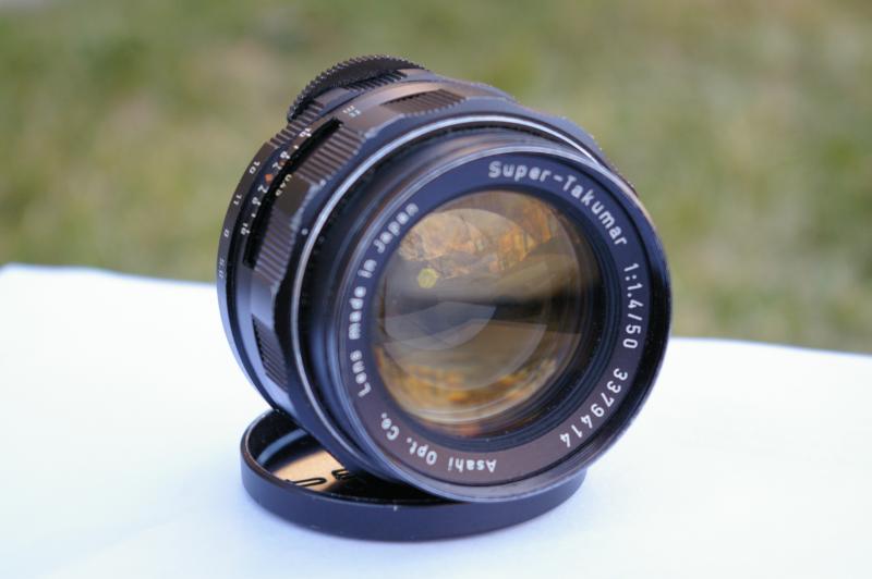 Pentax 67ii + smc takumar 55mm f35 + uv filter