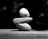Stacking Rocks Minimalistic