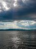 Lake Champlain- ice, fire water