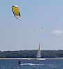 kitesailing on the bay.........