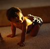 Baby on floor - natural light