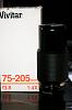Vivitar (Kiron) 75-205mm/3.8 K-mount (Serial 22xxxxxxx) (US)