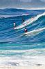 Surf at Waimea Bay on the North Shore of Oahu, Hawaii