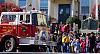 patriotic fire engines....