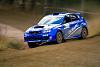 Subaru WRX Rallycar drifting