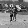 father and son... beachcombing