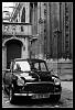Austin Mini in Paris