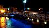 Le pont bleu à Martigues