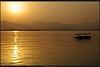 Sunset on Hangzhou West Lake