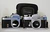 FREE - Miranda SLR film camera bodies and three lenses
