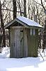 Outhouse at the park
