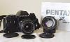 Pentax LX Film Body, K24mm/2.8, K55mm/1.8 (Worldwide)