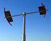 Solar powered artwork