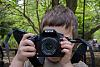 Let my 4 year-old loose with a K200D and FA43