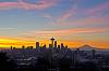 2011 New Year's Sunrise over Seattle
