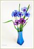Blue flowers with 77/1.8 ltd...