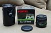 Pentax DA 35mm Ltd / Sigma 30mm DC EX (w/ UV filter)