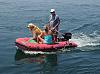 3 on a raft...