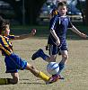 4 Kneeling Soccer Shots