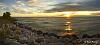 Lake Michigan Sunrise Pano
