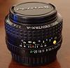 Pentax A50/1.4 Lens - Excellent Condition - $149 shipped