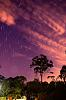 Startrail Clouds