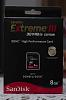 SanDisk Extreme III 8GB Class 6 Memory Card