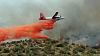 "The ""Great Fire"" east of Julian CA"