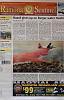 Pentax Kx Gets front page newspaper shot!