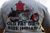 Old fat guys ride Indians
