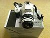 Pentax K-X White w/ 18-55