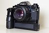 Minolta X-700 w/ Motor drive + lenses